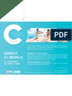 C Beach Club DJ Sunday Brunch 3 Juillet 2011