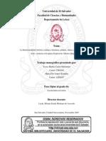 La Intertextualidad Artística (música, literatura, pintura, danza, cine) y la Dialogización texto-contexto en Lujuria Tropical de Alfonso Quijada Urías