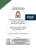 Apertura de espacios informativos políticos en el marco de una cultura de paz  por parte de la prensa escrita Diario Colatino y El Diario De Hoy