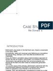 Mcdonald Case Study Analysis 100720061627 Phpapp02
