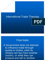 6,7,8 International Trade Theories
