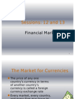 12, 13 Financial Markets