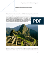 Centenario de Machu Picchu