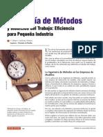 Ingeniería de Métodos y Medición del Trabajo