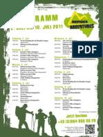 Biosphären Adventures Programm KW 27