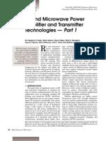 RF&MicrowavePowerAmp&XMTRs
