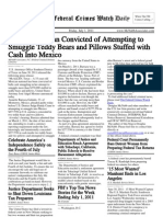 July 1, 2011 - The Federal Crimes Watch Daily