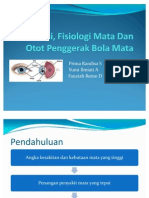 Anatomi, Fisiologi Mata Dan Otot Penggerak Bola