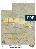 North Carolina Redistricting  New Congressional map for District #13 in 2011