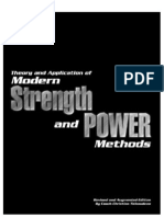 Theory and Application of Modern Strength and Power Methods Modern Methods