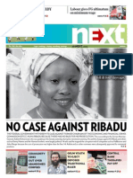NO CASE AGAINST RIBADU