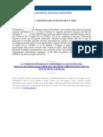 Corte Di Cassazione n 24166 2011