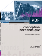 Conception Parasismique_Milan Zacek