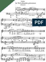 Mahler - Ich Bin Der Welt Ruekert 3