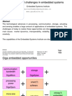 Embedded Systems Opportunities Slides