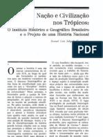 Artigo de Manoel Salgado Nação e civilização