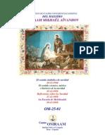 Nacimiernto de Jesua Omraam Ivanoh