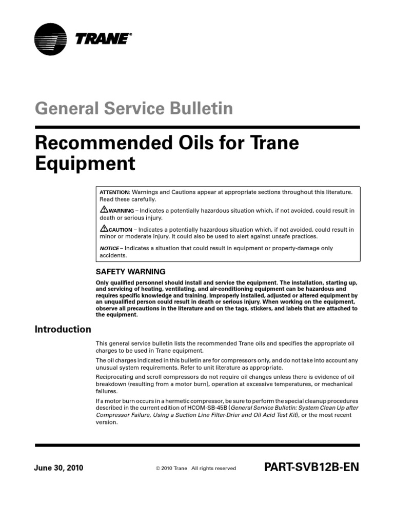 aceites trane | Gallon | Heating, Ventilating, And Air