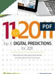 11 Digital Predictions for 2011 Millward Brown