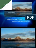 ppt2 - ¿ Calamidades de población en ambientes que parecen ser vacío ?