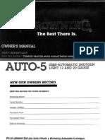 Browning Auto 5 Lite