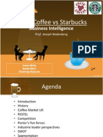 Costa Coffee vs Starbucks