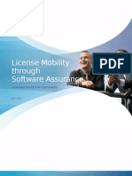 License Mobility Through Software Assurance Customer Program Guide