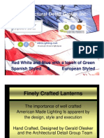 ADG Lighting Spanish and European Fixtures
