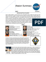STS-135 Mission Summary