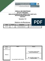 AP-DT7 PRO0001 - Reglas Conformar NIST Alta Mayor Mexicano