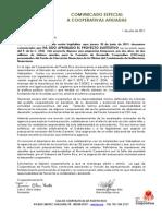 Comunicado Especial -Proyecto SUSTITUTIVO