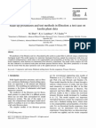 Scale-Up Procedures and Test Methods in Filtration - A Test Case on Kaolin Plant Data