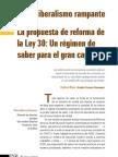 La Propuesta de Reforma de La Ley 30_por Frank Molano
