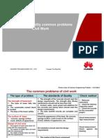 Engineering Quality Common Problem Series (1) - Civil Work