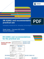 En 62061 and Recommendations for the Practical Use - Derek Jones