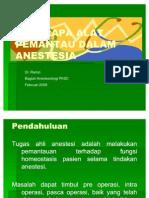 Pemantauan Dalam Anestesia Carolus