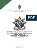 NOVO RDPM (com Alterações 2010)