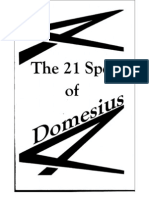 The 21 Spells of Domesius