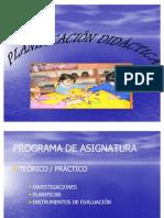 Programa de Planificacion Didactica