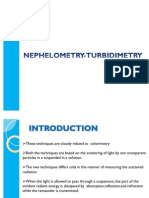 Nephelometry-Turbidimetry