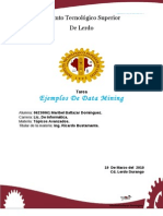 Ejemplos Data Mining
