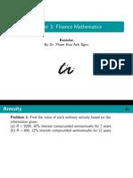 Finance Math Ex