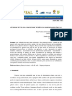 Generos Textuais Conceitos e Tendencias No Ensino de Linguas