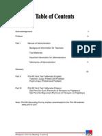 Phil-IRI Manual Oral Reading