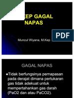07. ASKEP GAGAL  NAPAS