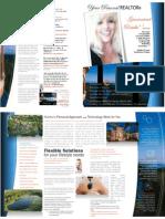 Martha R Grass Bio Brochure ~ Luxury & Investment Home REALTOR
