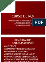 CURSO DE RCP