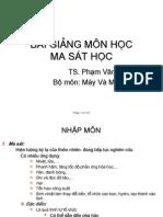 [SachViet.org].947.Bai Giang Ma Sat Hoc