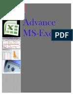 MS-Excel Workbook Material