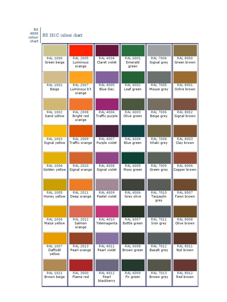 ral color chart bs 4800. Black Bedroom Furniture Sets. Home Design Ideas